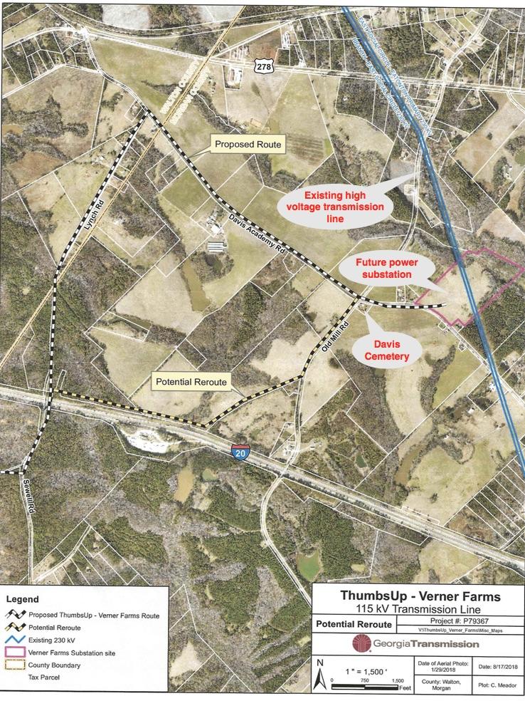 conservation easement, alternate route