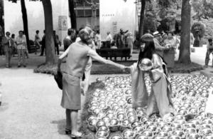 narcissus garden, 1966, venice