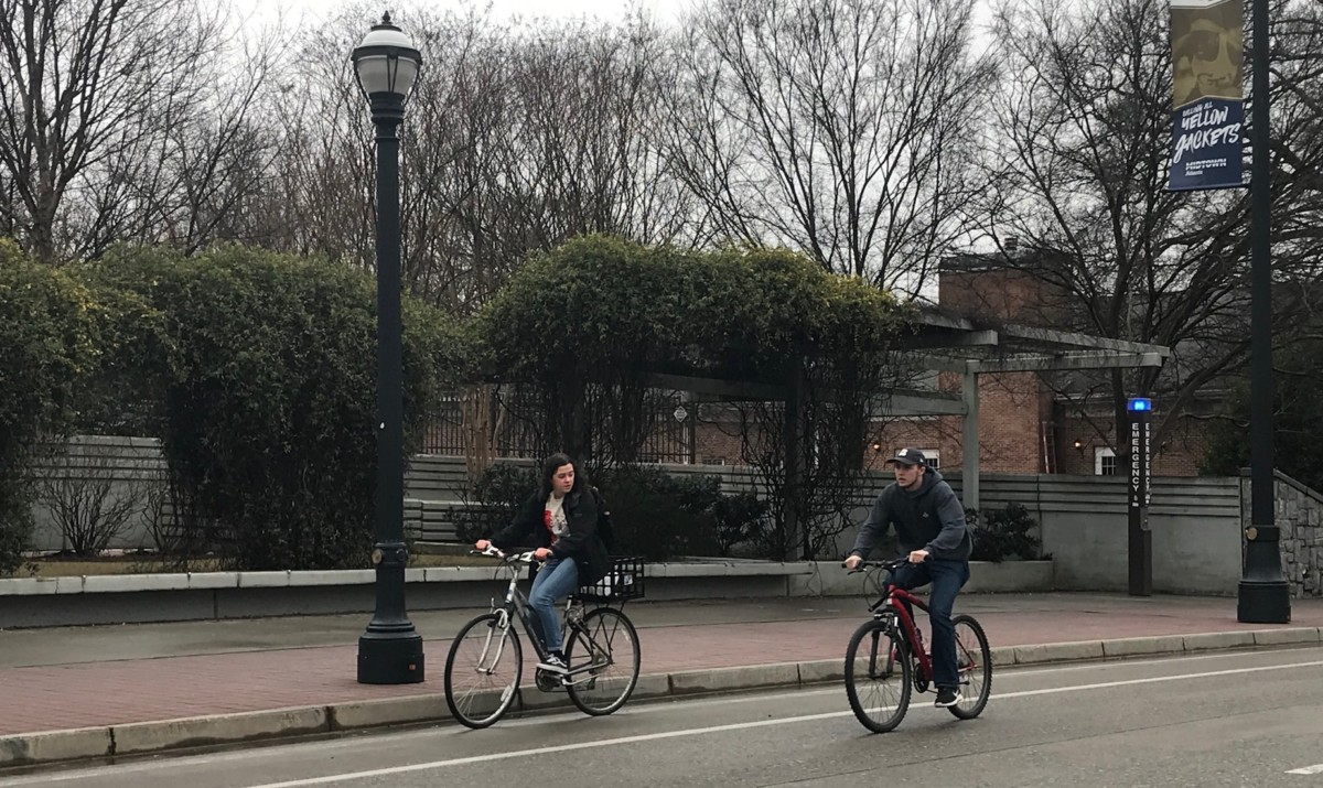 Georgia Tech, bicycles