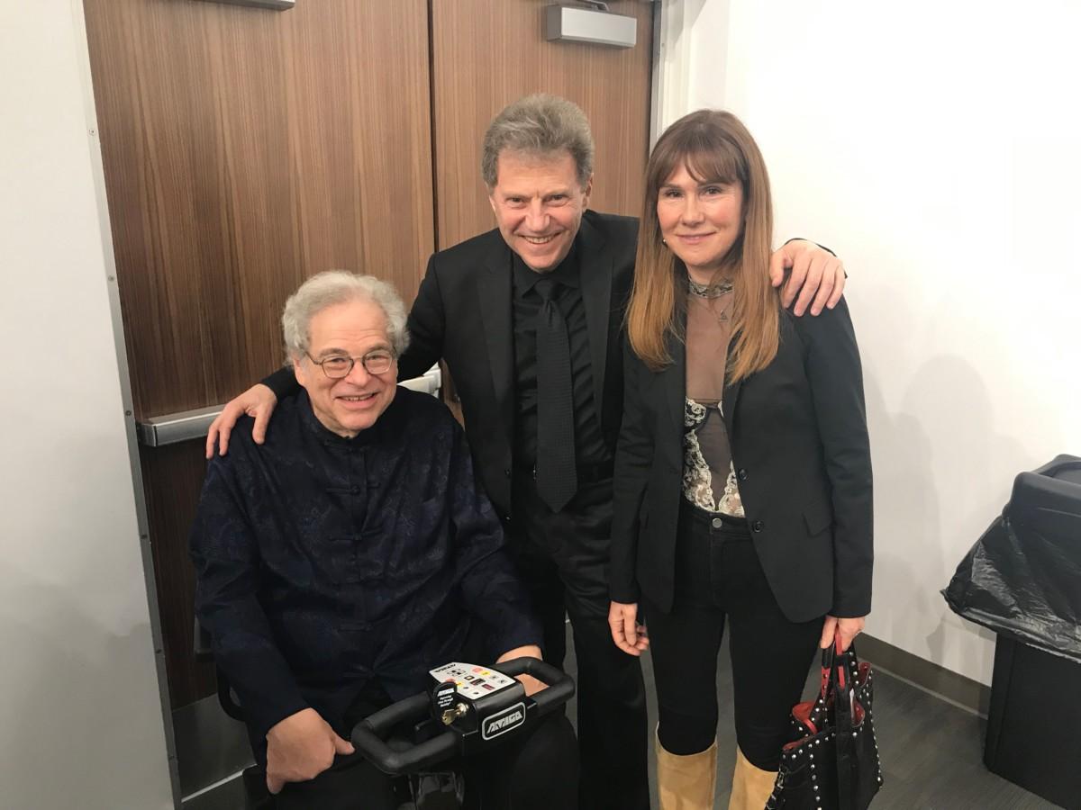 Itzhak Perlman, Yoel Levi Martine Tartour