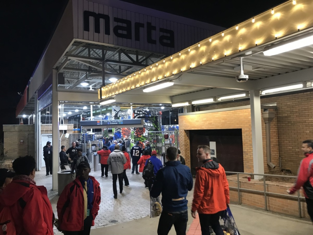 MARTA Vine City Station