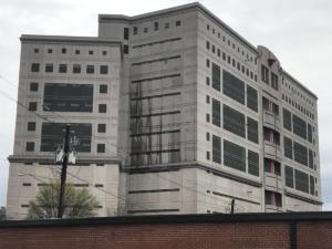 Atlanta city jail, side and rear