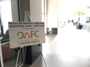 The Development Authority of Fulton County incentivizes deals all over the county, including in Atlanta. Credit: Maggie Lee