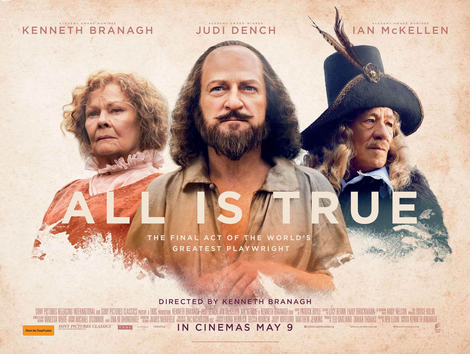 All is True' – an older Shakespeare struggles in retirement ...