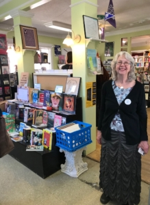 Linda Bryant, one of Charis' original founders, pictured at the now-closed L5P location. Credit: Kelly Jordan