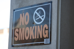 """No Smoking sign"" by Indiana Public Media is licensed under CC BY-NC 2.0"