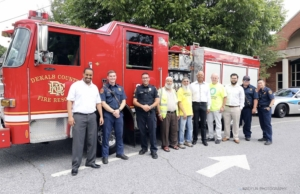 ICNA, fire department