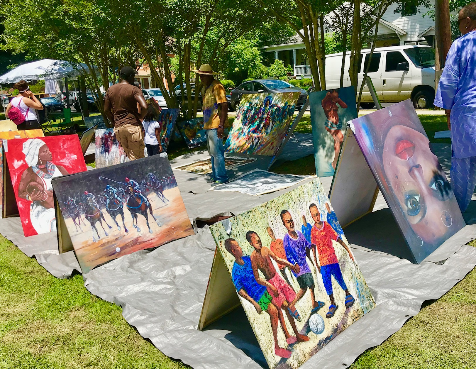 Malcolm X Fest - May 2019 and 2018- Photo by Kelly Jordan