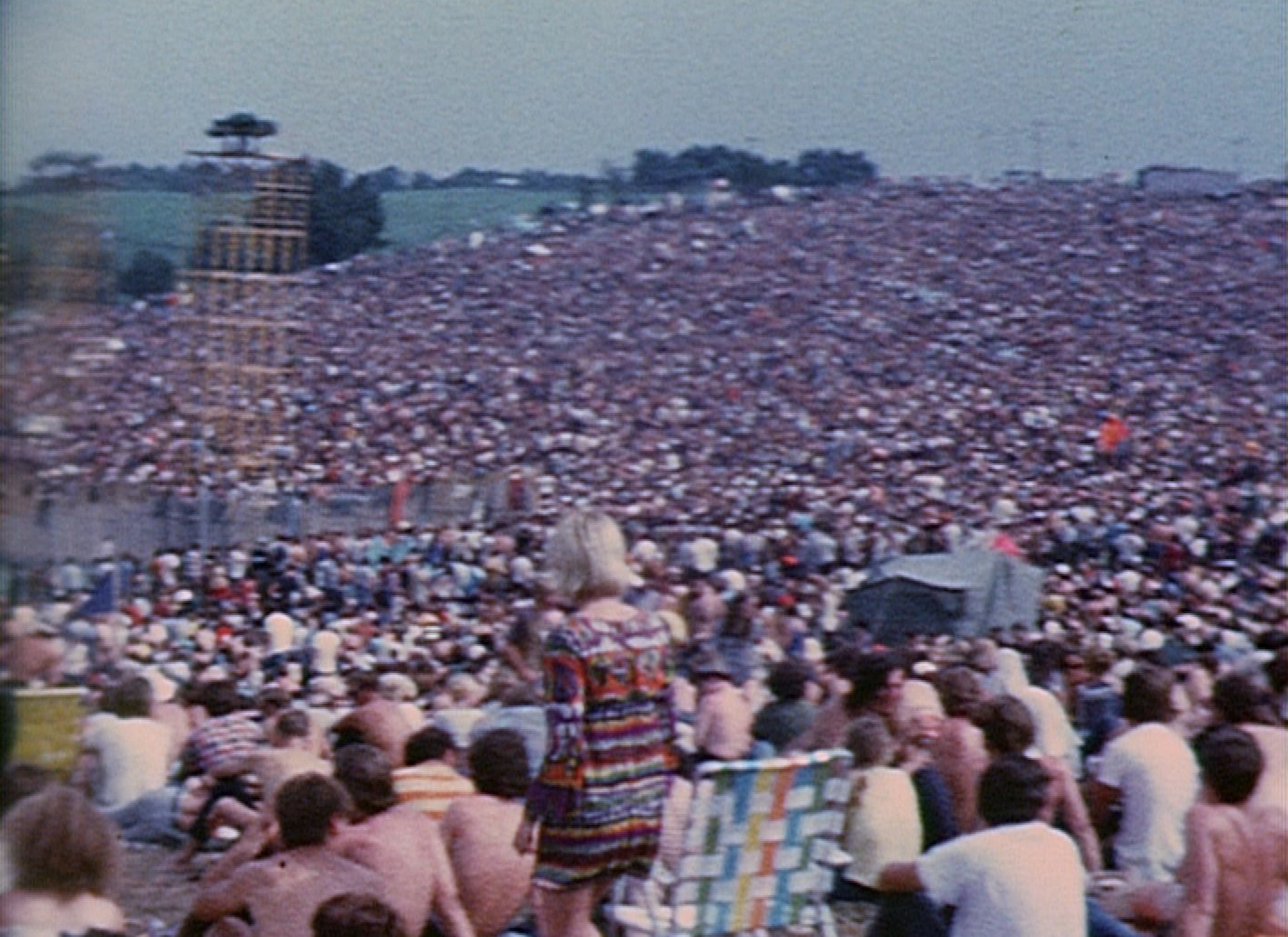 vanderkloot, woodstock concert, crowd