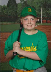 Taylor Duncan, age 12
