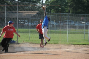Taylor Duncan, fly catch