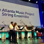 The Atlanta Music Project String Ensemble at the Atlanta Regional Commission State of the Region event on Friday. Credit: Kelly Jordan