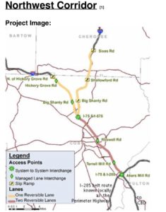 northwest corridor, map