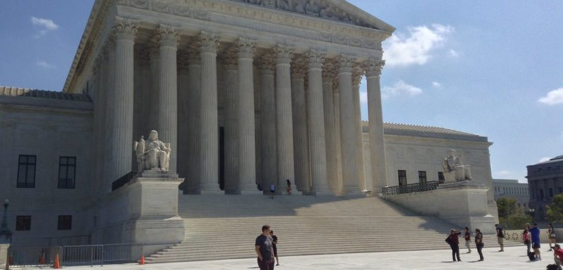 Exterior of the U.S. Supreme Court building