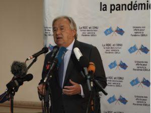 António Guterres, environmenal portrait