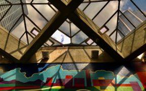 MARTA, North Avenue Station, skylight