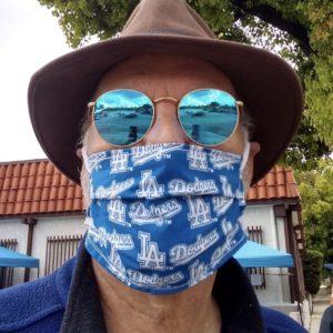 Tim Fleming, mask