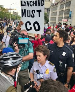 APD Chief Erika Shields, George Floyd, demonstrations, protests