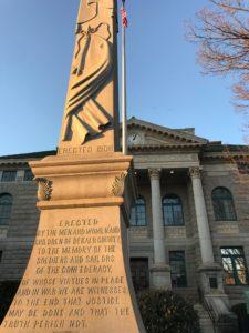 DeKalb County Confederate obelisk