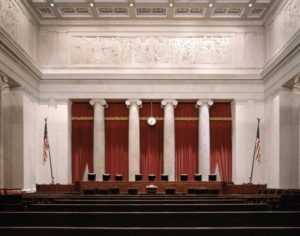 Supreme Court, courtroom