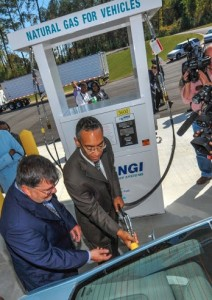 Burrell Ellis fuels with CNG