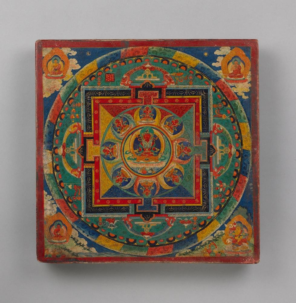 "Image from ""Mandala: Sacred Circle in Tibetan Buddhism"""
