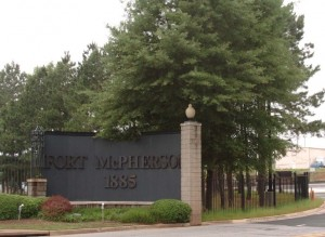 Fort McPherson Main Gate