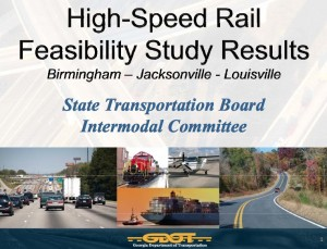 High Speed Rail Report, cover