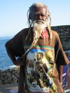 Brother John, a Rasta elder.