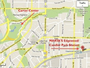 MARTA's Edgewood/Candler Park Station