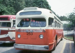 MARTA predecessor, Atlanta Transit Co., operated this type of bus in the 1950s