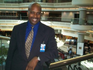 Paul Brown, concessions director, Atlanta airport. Photo: David Pendered