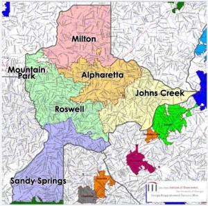 Proposed Milton County