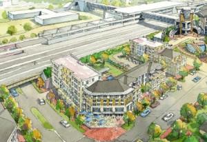 Proposed development at MARTA's Edgewood/Candler Park Station