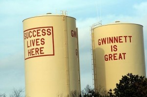 Success Lives Here : Gwinnett County's water towers