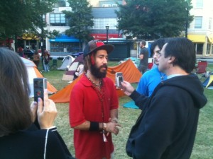 Occupy Atlanta was well recorded. Credit: David Pendered