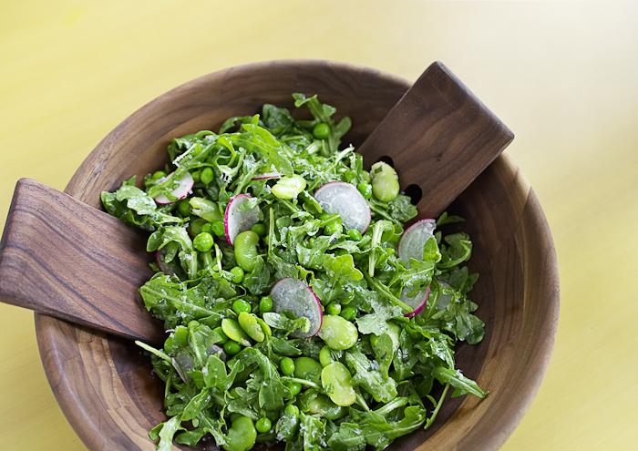 Springtime Arugula Salad