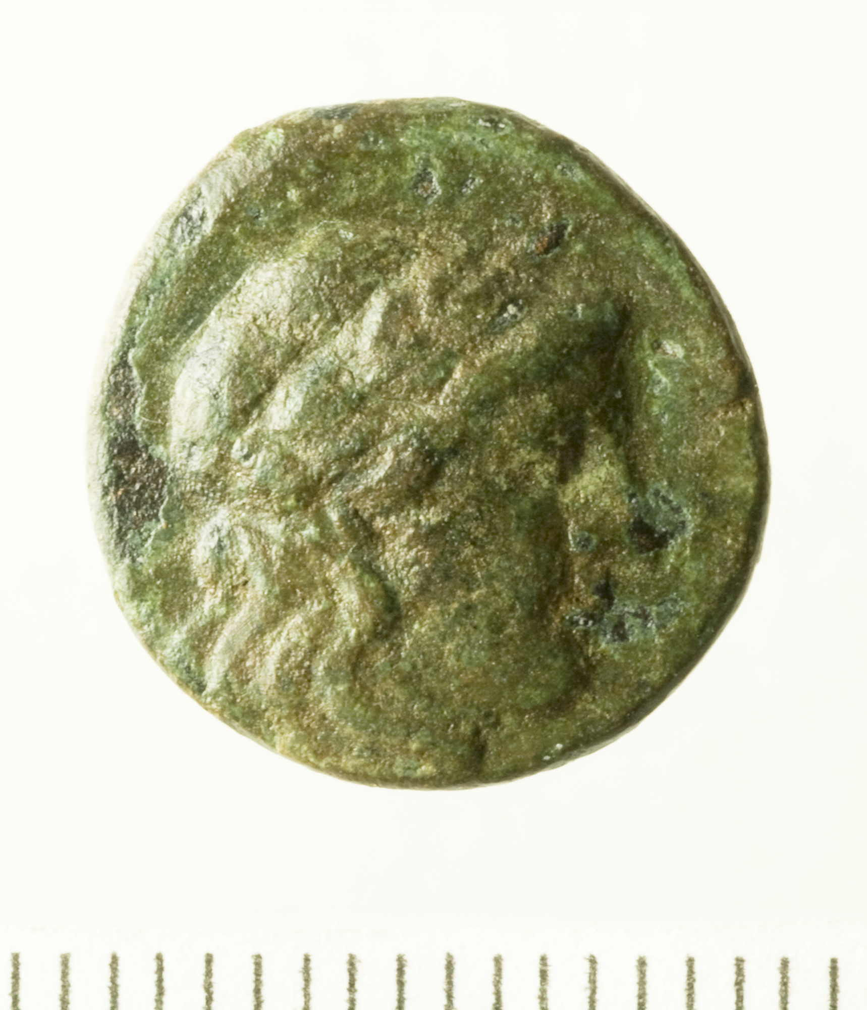 Hellenistic Bronze/Copper Alloy Denomination D of Sardis