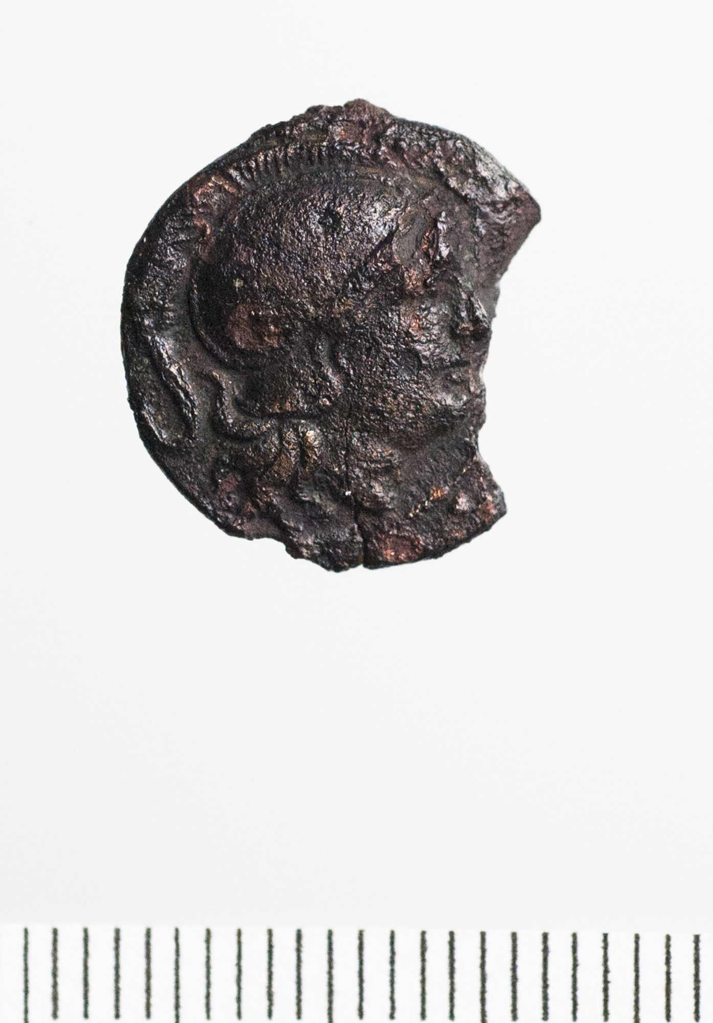 Hellenistic Bronze/Copper Alloy Half unit of Probably Sardis