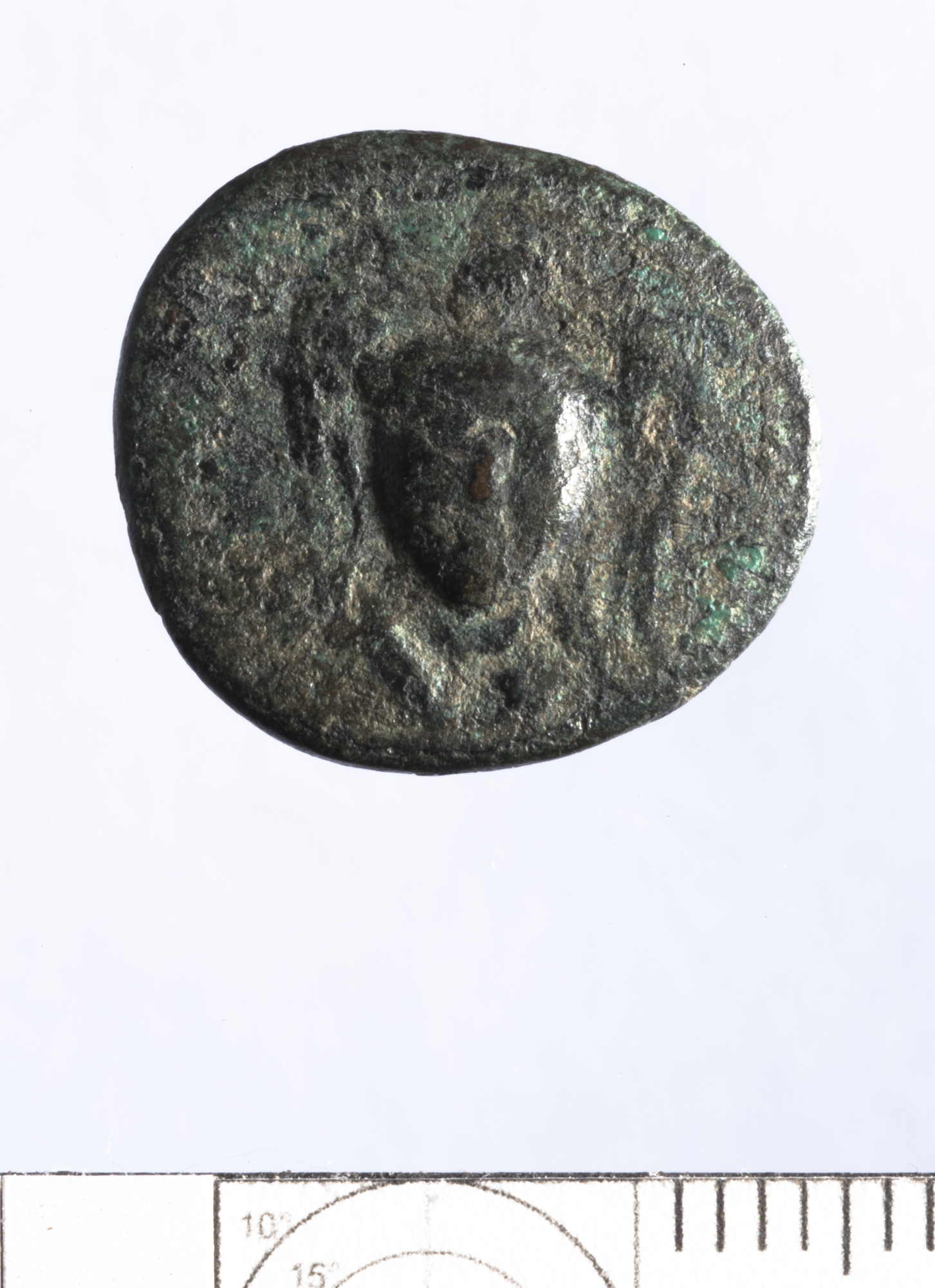 Hellenistic Bronze/Copper Alloy Denomination C or D of Sardis or perhaps Smyrna