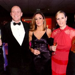 Natalie Pinkham wears Sassi Holford to Ronan & Storm Keatings 'Emeralds & Ivy Ball'