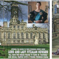 Lady Fitzalan Howard wearing Sassi Holford in Hello! Magazine