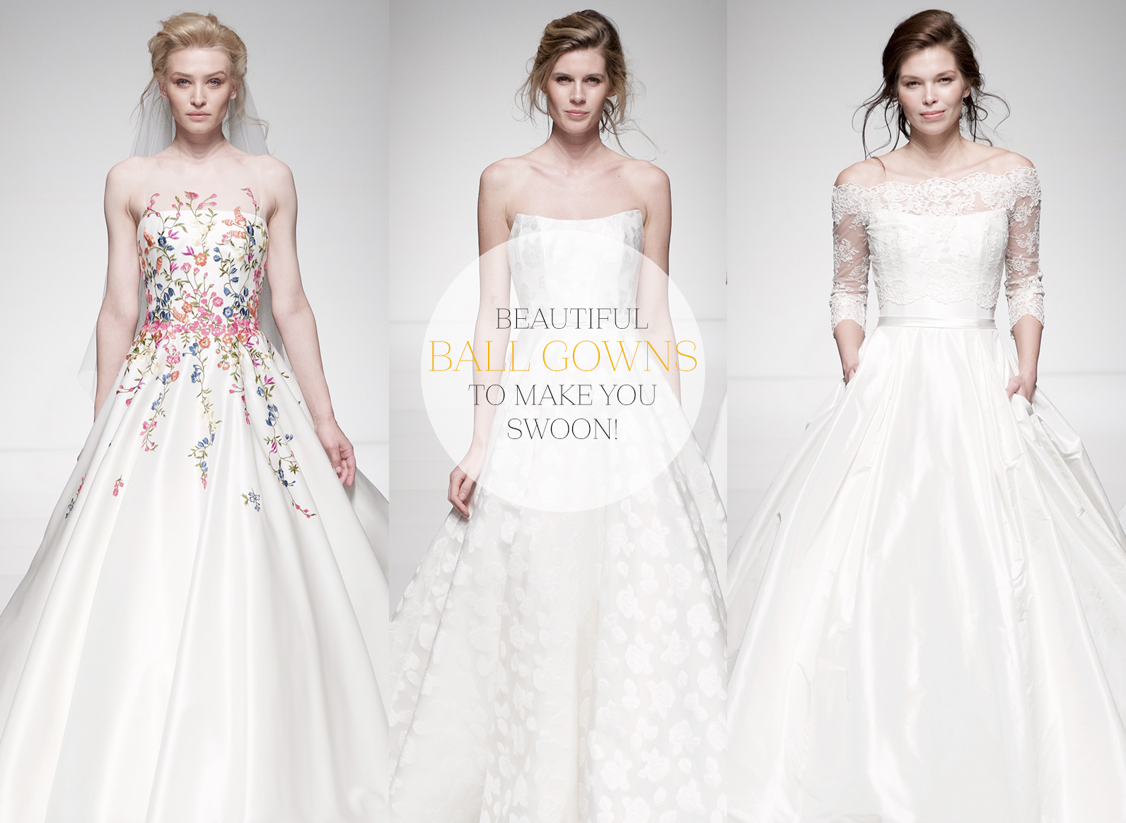 Beautiful ball gowns to make you swoon – Sassi Holford