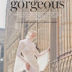 Sassi Holford Selena slip featured in BRIDES Magazine – Sept/Oct 2017