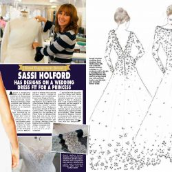 Sassi Holford in HELLO magazine!