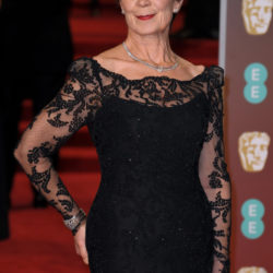 Celia Imrie wears Sassi Holford at the BAFTAS 2018