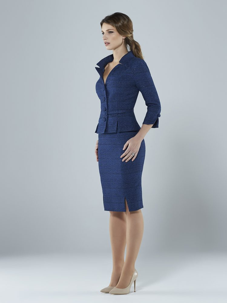 Sassi Holford blue suit