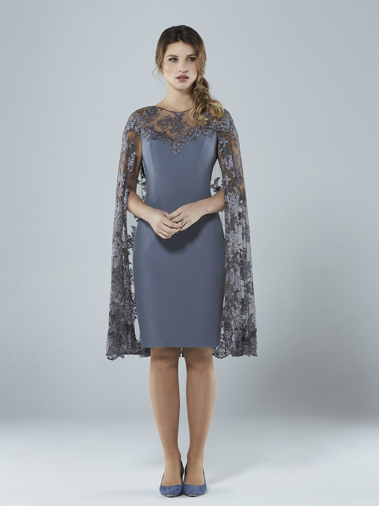 Grey lace dress Sassi Holford
