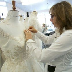 The secrets of designing a royal wedding dress – ITV News 16/05/2018
