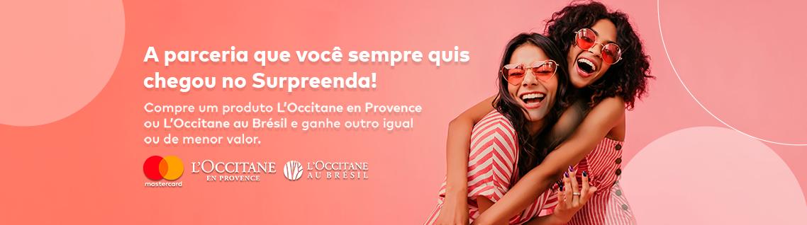 Parceria L'Occitane e Mastercard® Surpreenda